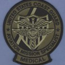 United States Coast Guard Aviation Mission Specialist Medical Patch