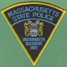 Massachusetts State Police Dive Team Patch