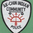 Ak- Chin Community Arizona Tribal Police Patch