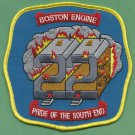 Boston Fire Department Engine Company 22 Fire Patch