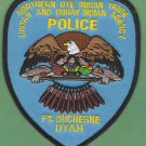 Northern Ute Utah Tribal Police Patch