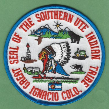 Southern Ute Utah Tribal Seal Patch