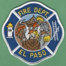 El Paso Texas Fire Patch