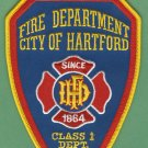 Hartford Connecticut Fire Patch