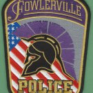Fowlerville Michigan Police Patch