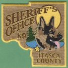 Itasca County Sheriff Minnesota Police K-9 Unit Patch