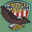 South Zanesville Ohio Police Patch