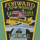 Forward Township Pennsylvania Police Patch