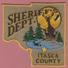 Itasca County Sheriff Minnesota Police Patch