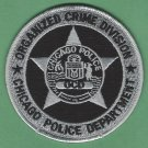 Chicago Illinois Police Organized Crime Division Patch