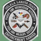 Oglala Lakota Oyate South Dakota Tribal Fish & Wildlife Enforcement Patch