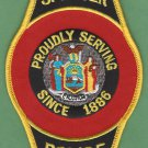 Spencer New York Police Patch