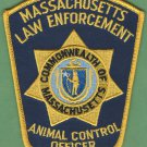 Massachusetts Law Enforcement Animal Control Officer Patch