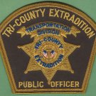 Tri-County Extradition Transportation Division Officer Patch