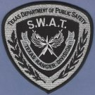Texas Department of Public Safety Ranger Division SWAT Team Police Patch