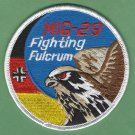 GERMAN AIR FORCE MIG-29 MILITARY FIGHTER AIRCRAFT PATCH