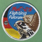 GERMAN AIR FORCE MIKOYAN MIG-29 MILITARY FIGHTER AIRCRAFT PATCH