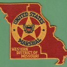 United States Marshal Western Missouri Police Patch