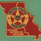United States Marshal Western Missouri Police Patch