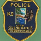 Grand Rapids Minnesota Police K-9 Unit Patch