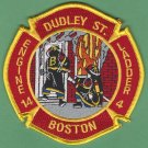 Boston Fire Department Engine 14 Ladder 4 Fire Company Patch