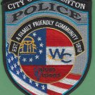Warrenton Georgia Police Patch