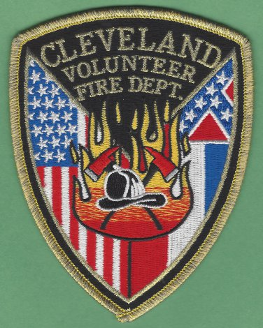 Cleveland Mississippi Fire Patch