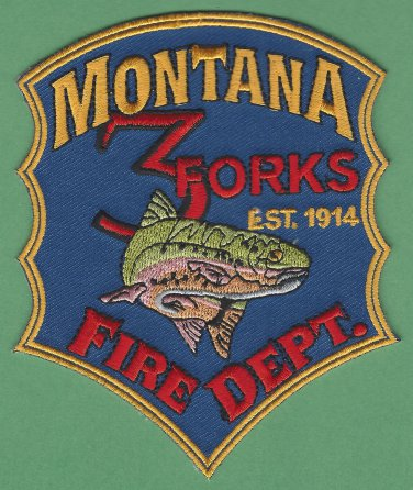 3 Forks Montana Fire Rescue Patch