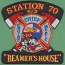 Houston Fire Department Engine 70 Medic 70 Company Patch