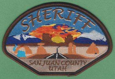 San Juan County Sheriff Utah Police Patch