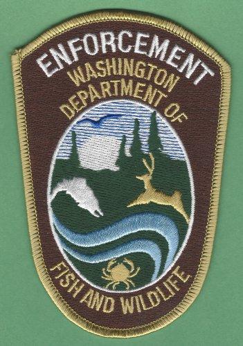 Washington State Fish & Wildlife Enforcement Police Patch