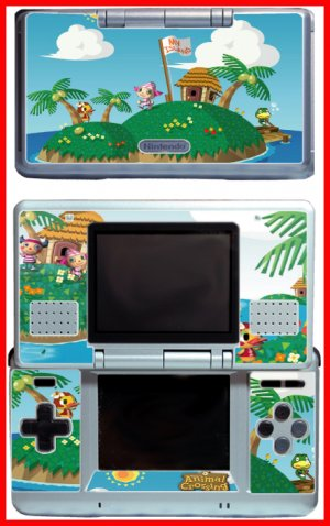 Animal Crossing Wild World Skin for Nintendo DS DAX3