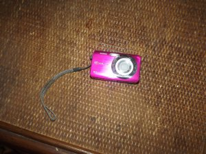 Hot pink Exilm camera