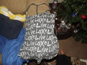 live luxe victorias secret cami size medium