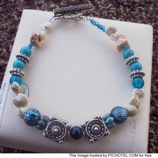 Seashell Inspired Bracelet