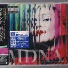 "MADONNA ""MDNA"" JAPAN CD 18 TRACKS"