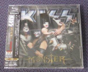 """KISS """"MONSTER"""" JAPAN SHM-CD 3D COVER +BONUS TRACK +STICKER"""