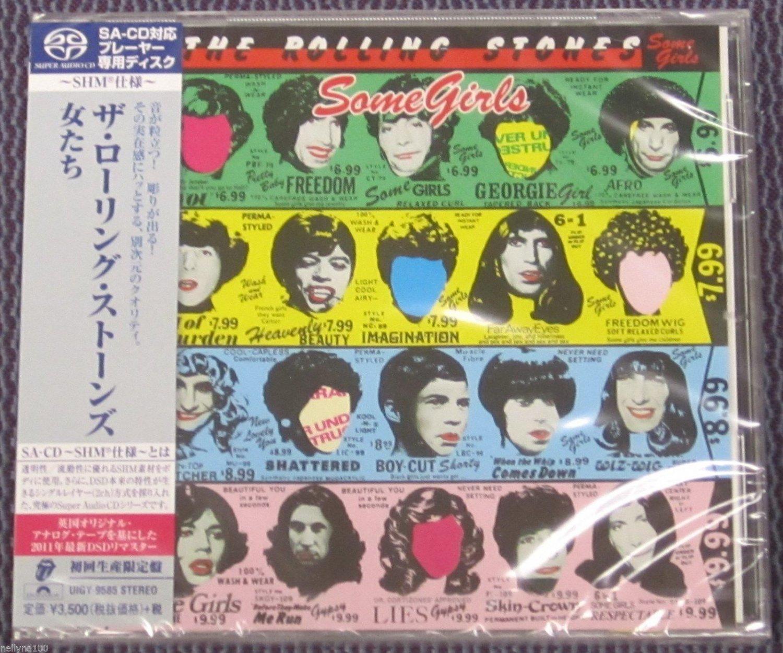 "ROLLING STONES ""SOME GIRLS"" JAPAN SHM-SACD DSD 2014 JEWEL CASE"