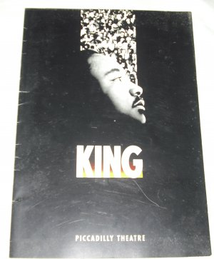 King: The Musical program book from Piccadilly Theatre, London