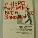 A Hero Ain't Nothin' But a Sandwich (Flare Original Novel) by Alice Childress
