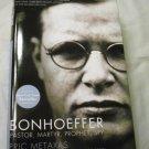 Bonhoeffer by Eric Metaxas (2010, Hardcover)