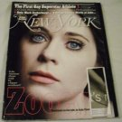 New York Magazine September 19, 2011 Zooey Deschanel