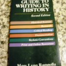 A Pocket Guide To Writing in History, 2nd Edition