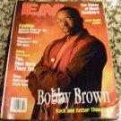 Ebony Man EM Magazine February 1992 Bobby Brown