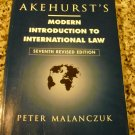 Akehurst's Modern Introduction to International Law by Peter Malanczuk (1997, Paperback, Revised)