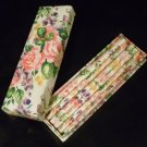 Brand new floral pencil set with matching box.