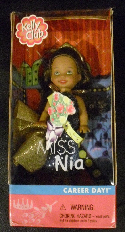 ~ NEW ~ Miss Nia, Career Day Kelly Club Barbie Doll