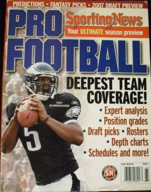 Sporting New Pro Football 2006, Cover 3 (Deepest Team Coverage!)
