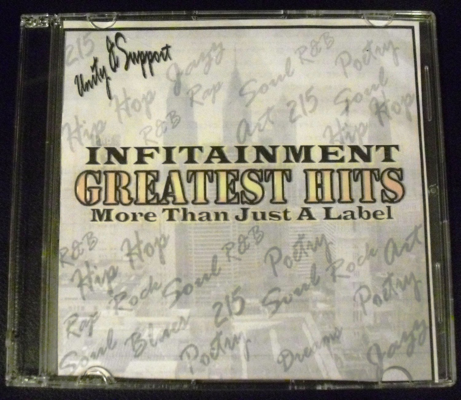Infitainment Greatest Hits: More Than Just A Label (Audio CD)