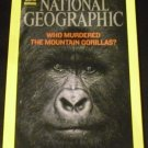 National Geographic, July 2008 Issue (Who murdered the Mountain Gorillas?